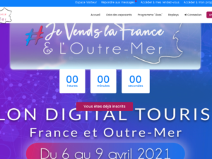 Salon digital tourisme